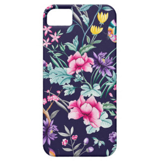 CHINOISERIE - NAVY BASE iPhone 5 COVER