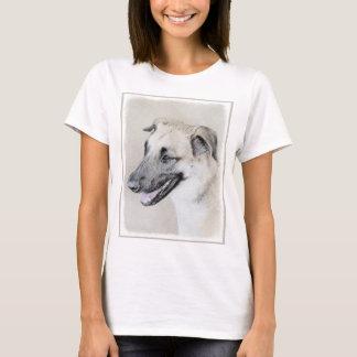 Chinook (Dropped Ears) Painting - Original Dog Art T-Shirt