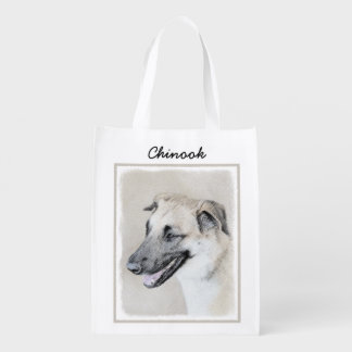 Chinook (Dropped Ears) Reusable Grocery Bag