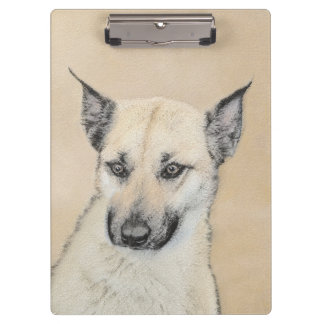 Chinook Puppy (Pointed Ears) Clipboard