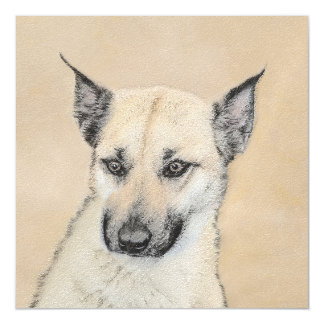 Chinook Puppy (Pointed Ears) Magnetic Card