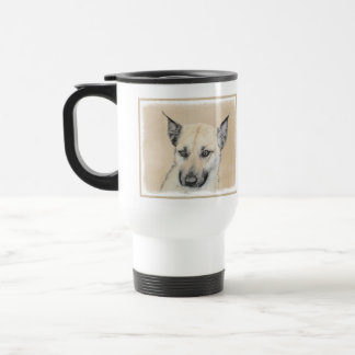 Chinook Puppy (Pointed Ears) Travel Mug