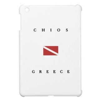 Chios Greece Scuba Dive Flag Cover For The iPad Mini