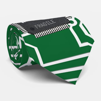 Chip On Printed Circuit Board With Your Name Tie