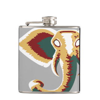 Chip the Rastaphant Flask