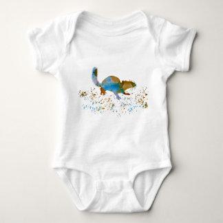 Chipmunk Baby Bodysuit