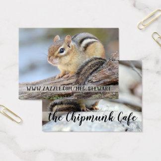Chipmunk Business Cards