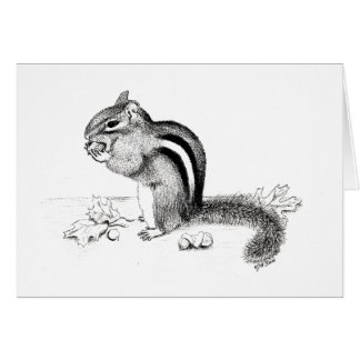 Chipmunk Card