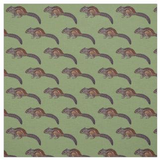 Chipmunk Fabric (Green)