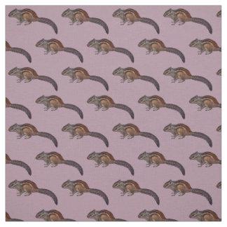 Chipmunk Fabric (Pink)