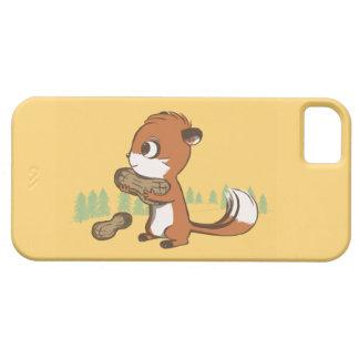 Chipmunk & Peanuts iPhone Case iPhone 5 Cases