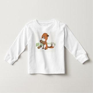 Chipmunk & Peanuts long sleeve shirt for kids