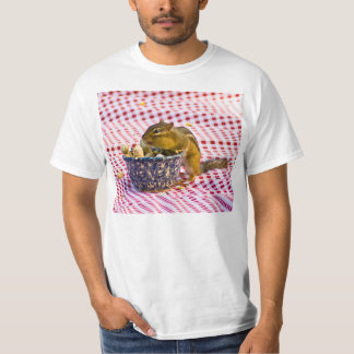 Chipmunk Picnic T-shirts