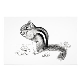 Chipmunk Stationery