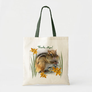 Chipmunk's Mother's Day Tote Bag