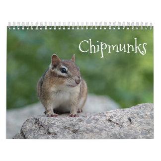 Chipmunks Wall Calendars