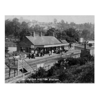 Chipping Norton Railway Station Vintage Postcard