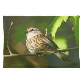 Chipping Sparrow Cloth Placemat
