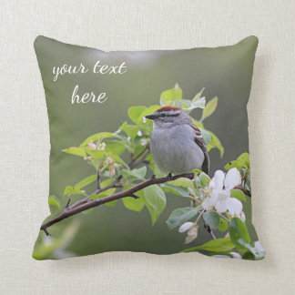 Chipping Sparrow Cushion