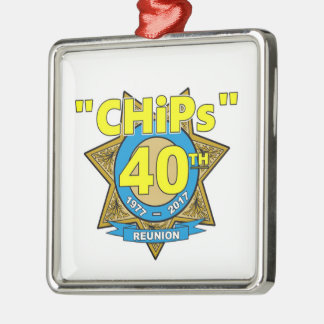 CHiPs 40th Anniversary Ornament