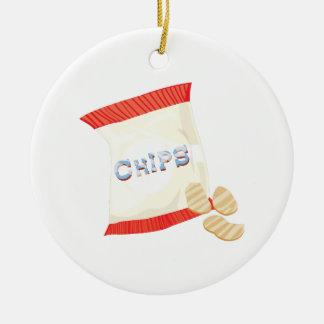 Chips Bag Ceramic Ornament
