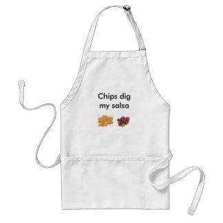 Chips Dig My Salsa Standard Apron