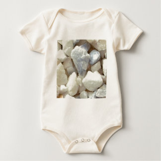 chips of rock and stone baby bodysuit