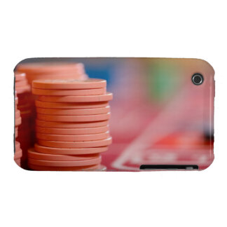 Chips on betting table 2 iPhone 3 cover
