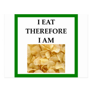 chips postcard
