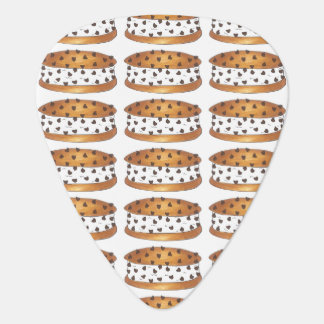 Chipwich Chocolate Chip Cookie Ice Cream Sandwich Guitar Pick
