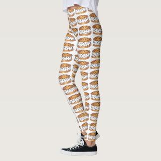 Chipwich Chocolate Chip Cookie Ice Cream Sandwich Leggings