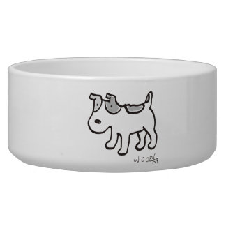 Chiro the Jack Russell terrier Pet Water Bowl