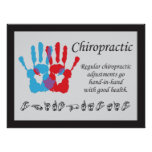 Chiropractic Adjustments Sign Language Poster