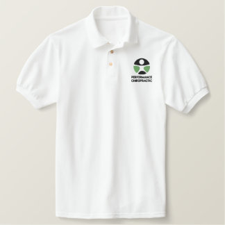 Chiropractic Logo Embroidered Polo Shirt