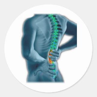 Chiropractic Round Stickers