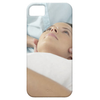Chiropractic treatment of the neck using the iPhone 5 covers
