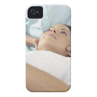 Chiropractic treatment of the neck using the Case-Mate iPhone 4 cases