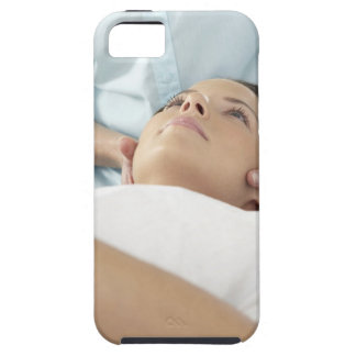 Chiropractic treatment of the neck using the tough iPhone 5 case