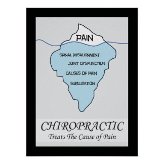 Chiropractic Treats the Cause Poster