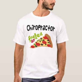 Chiropractor (Funny) Pizza T Shirt