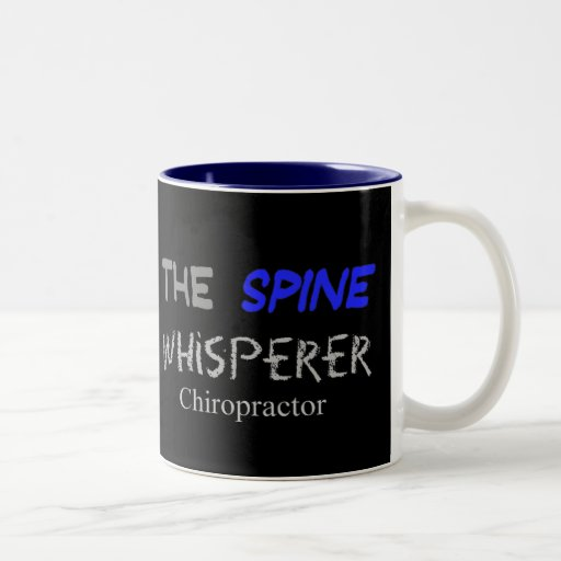 "Chiropractor Gifts ""The Spine Whisperer"" Mug"