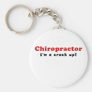 Chiropractor Im a Crack Up Key Ring