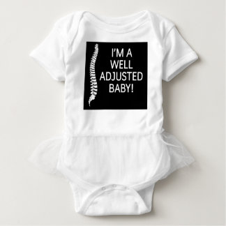 chiropractor  I'm a well adjusted baby Baby Bodysuit