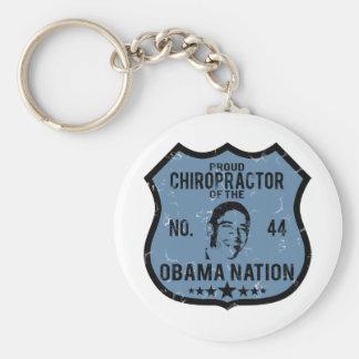 Chiropractor Obama Nation Key Ring