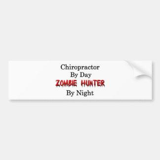 Chiropractor/Zombie Hunter Bumper Sticker