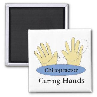 Chiropractors Have Caring Hands Magnet