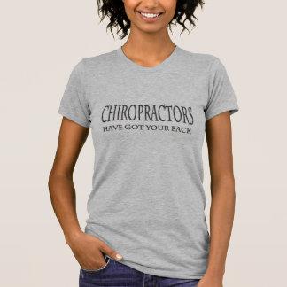 Chiropractors Have Got Your Back Black.png T-Shirt