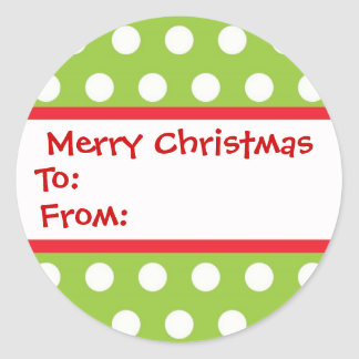 Chirstmas Gift Stickers
