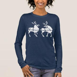 Chirstmas Reindeer Shirts Women's Holiday T-shirts