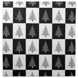 Chirstmas Tree Chess Napkin